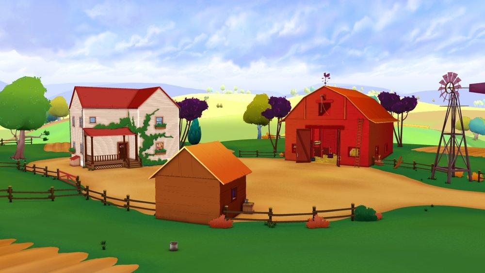 картинки фермы для презентации мелисса рассказала