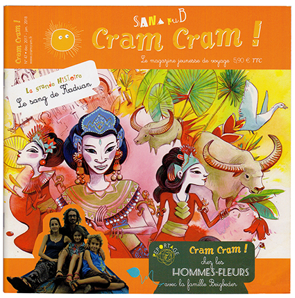 Cram Cram ! N°47 Dec. 2017 - Jan. 2018 : Les Hommes-Fleurs