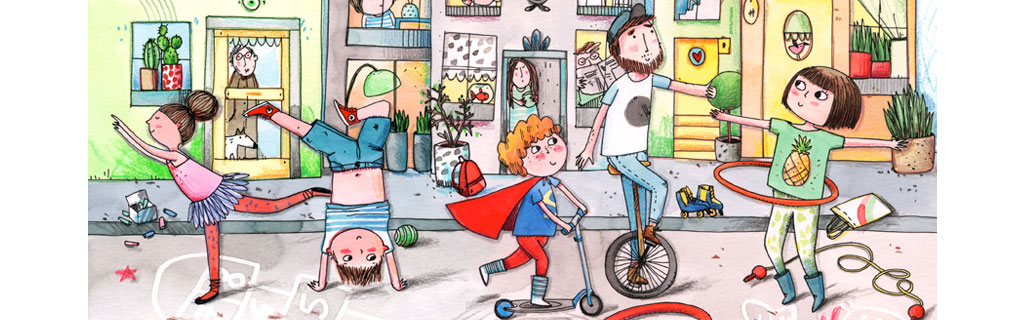 Lucie Georger - illustratorWant to know more ? : WHO IS LUCIE ?
