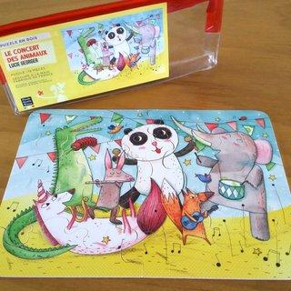 Le concert des animaux - puzzle