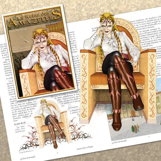 La Reine des Amazelles - Helga
