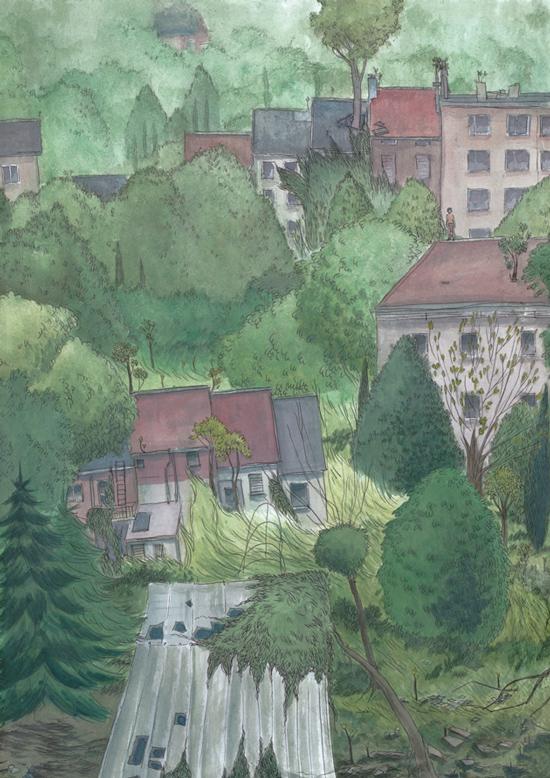 Illustration personnelle, 2013.