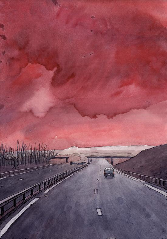 Illustration personnelle, 2011.