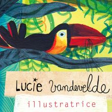 Lucie vandeveldePerformance Artistique : Illustration Géante / Salon Sciences'Art
