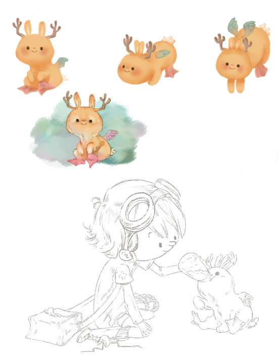 Planche personnages