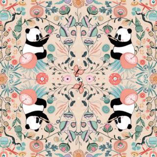Kaléidoscope Panda