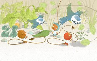 """Les Ptimounes  """" chacun fait son nid"""""""