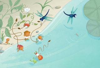 les Ptimounes. Un poisson à la maison. Flammarion