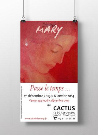 Affiche exposition Cactus