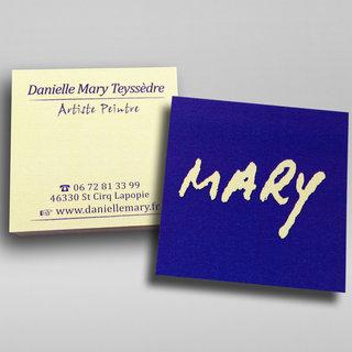 Carte de viste Mary