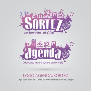 Logo Sortez en territoire Lot Célé