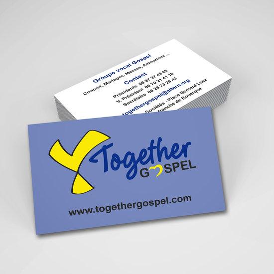 Carte De Visite Together Gospel