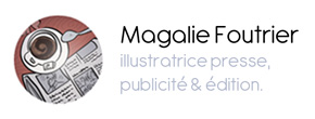 Book de l'illustratrice Magalie Foutrier Portfolio : PUBLICITÉ
