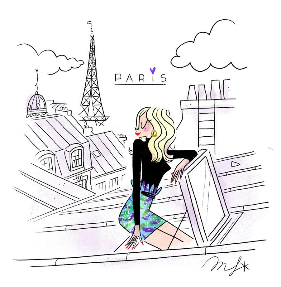 Paris Roofs Top