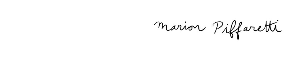 Marion Piffaretti :