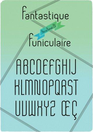 Spécimen typographique