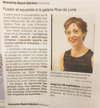 Ouest France Ancenis 21/09/19