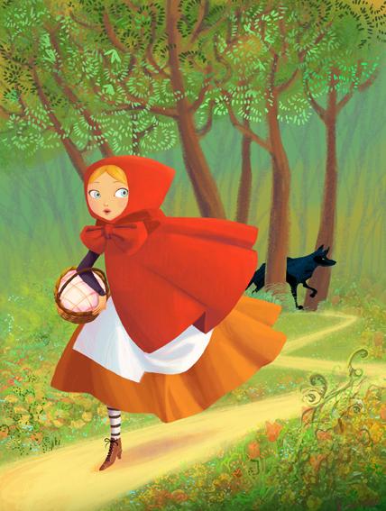 Diane le feyer mandodiane illustration dessin anim - Dessin chaperon rouge ...