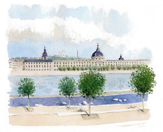Hôtel-Dieu / Lyon