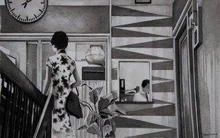 """In the Mood for Love"" - Wong Kar-Wai (Encre de Chine)"