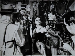 """Boulevard du crepuscule"" (Sunset boulevard) Billy Wilder"