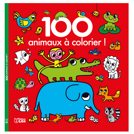 Lito / 100 animaux à colorier / 100 coloring animals