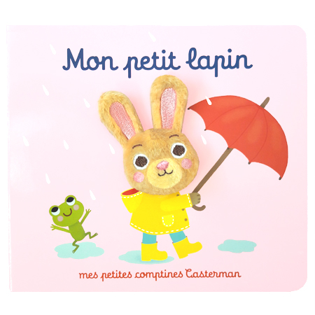 Casterman / new puppet book / My sweet bunny / Mon petit lapin