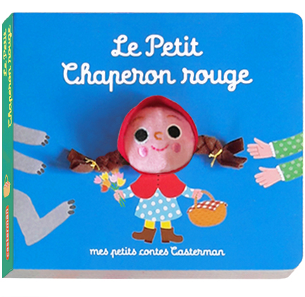 Casterman / le petit chaperon rouge / the red riding hood / puppet book