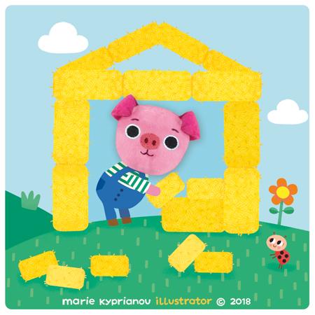 Les trois petits cochons / The three pigs