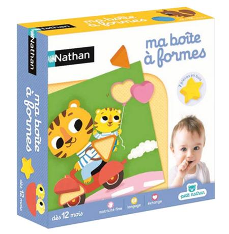 Nathan Jeux / ma boîte à formes / my shape sorter