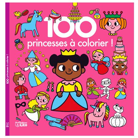 Princess coloring book / Princesses à colorier