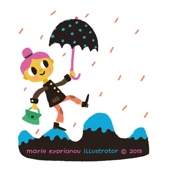 vive la pluie / long live rain!