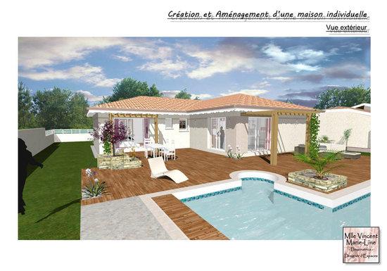 Design d 39 espaces portfolio projets personels for Projet maison individuelle