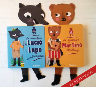 Louloup et Martin en italien!!