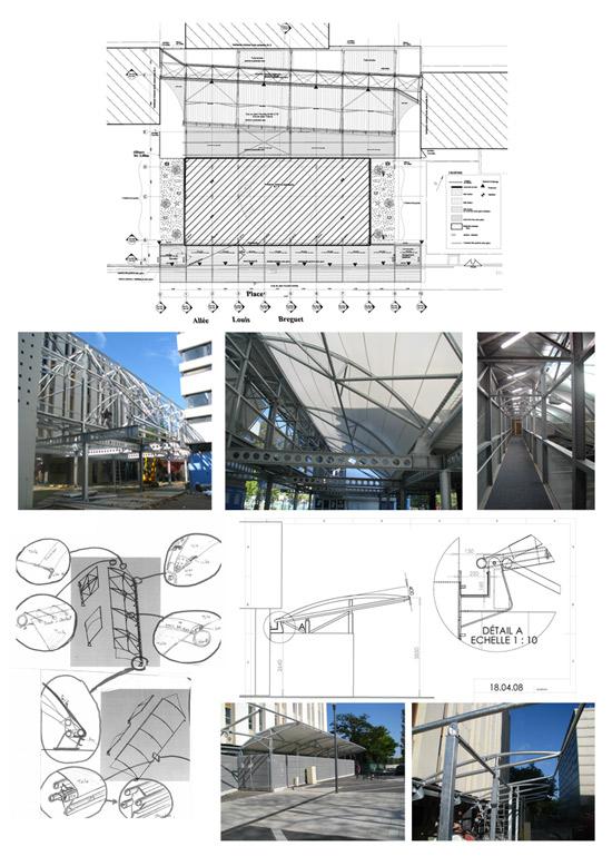 marie pierre gauthier architecte d 39 int rieur cfai portfolio conception de structures m tallo. Black Bedroom Furniture Sets. Home Design Ideas