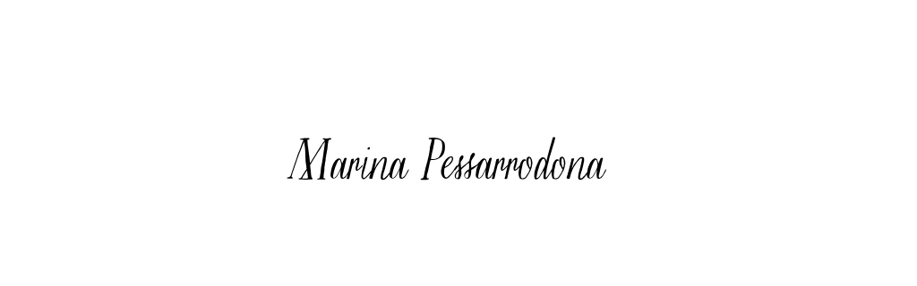 Marina Pessarrodona | Portfolio