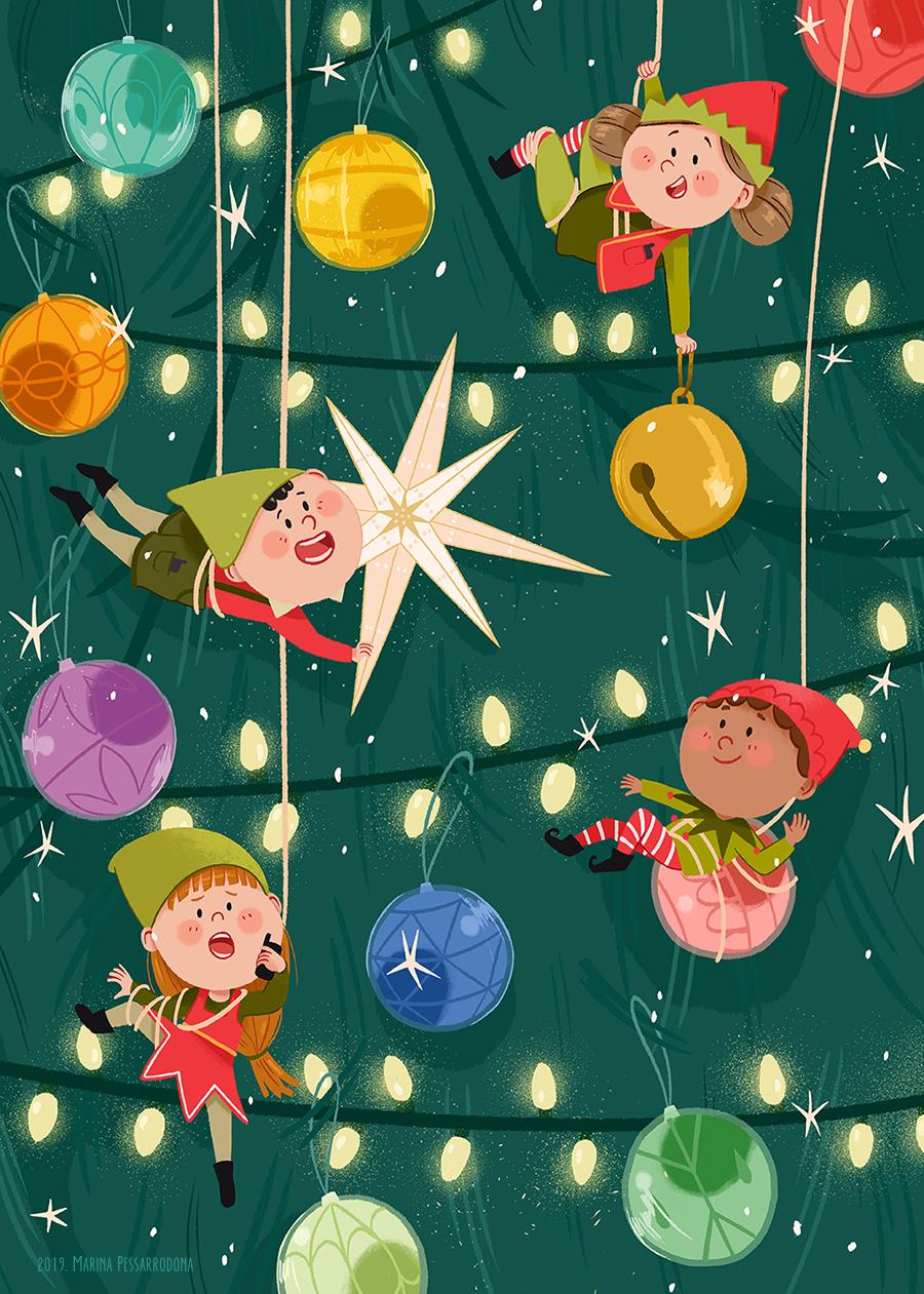 Joyeux Noël Merry Christmas Feliz Navidad Bon Nadal