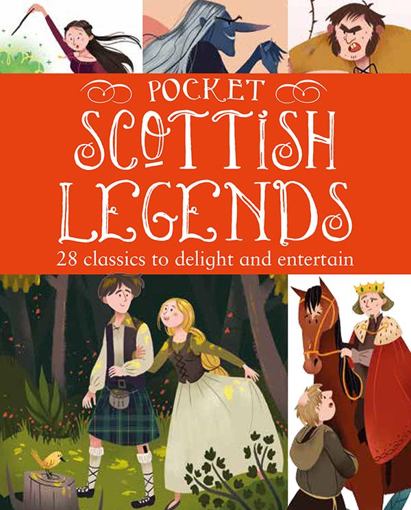 Pocket Book of Scottish Legends, Gill Books, 2017
