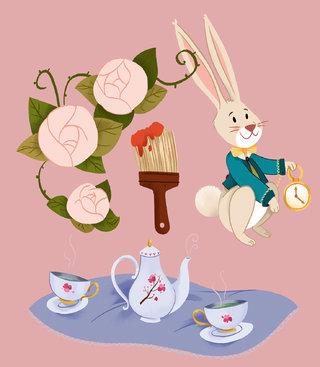 Cabochons Alice