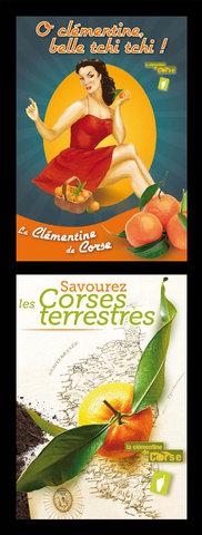 Propostions créatives pour la clémentine de Corse