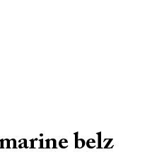 Marine Belz : Ultra-book