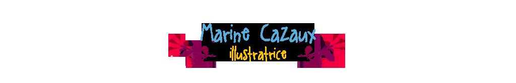 Marine Cazaux illustratrice Portfolio :