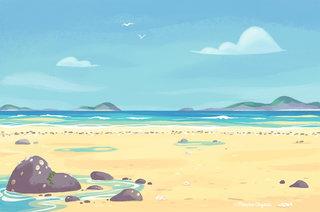 La mer s'est retirée © Hachette Education Editions