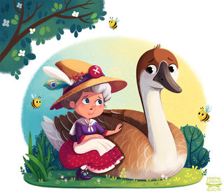 The Old Mother Goose © Storytime Magazine