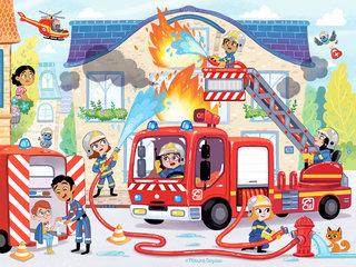 Puzzle Pompiers © Lito Editions