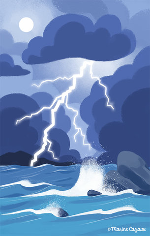 Orage marin © Hachette Education Editions