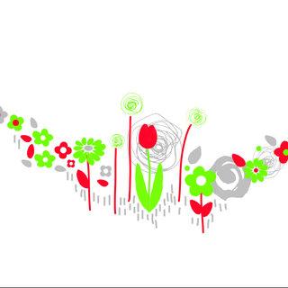 Motif pour polypro thème printemps
