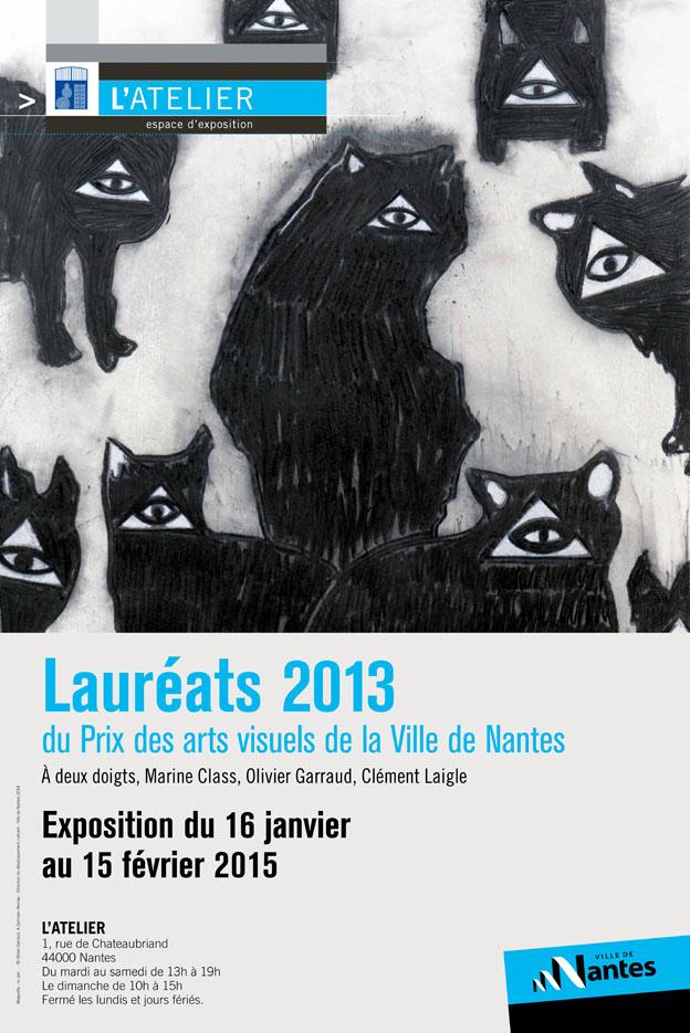 Marine Class - Lauréats 2013 du Prix des Arts visuels de la Ville de Nantes