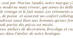 Description - Marine SANDEI
