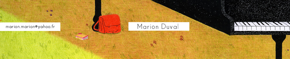 Illustration Marion Duval : Ultra-book
